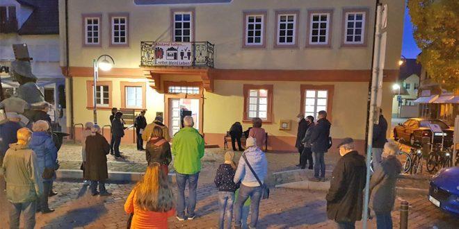 Gedenken an Gurs-Deportation Bad Schönborn
