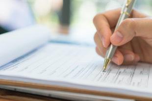 Formular Büro schreiben Stift Arbeit Job