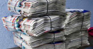 Altpapier Zeitung Altpapiersammlung