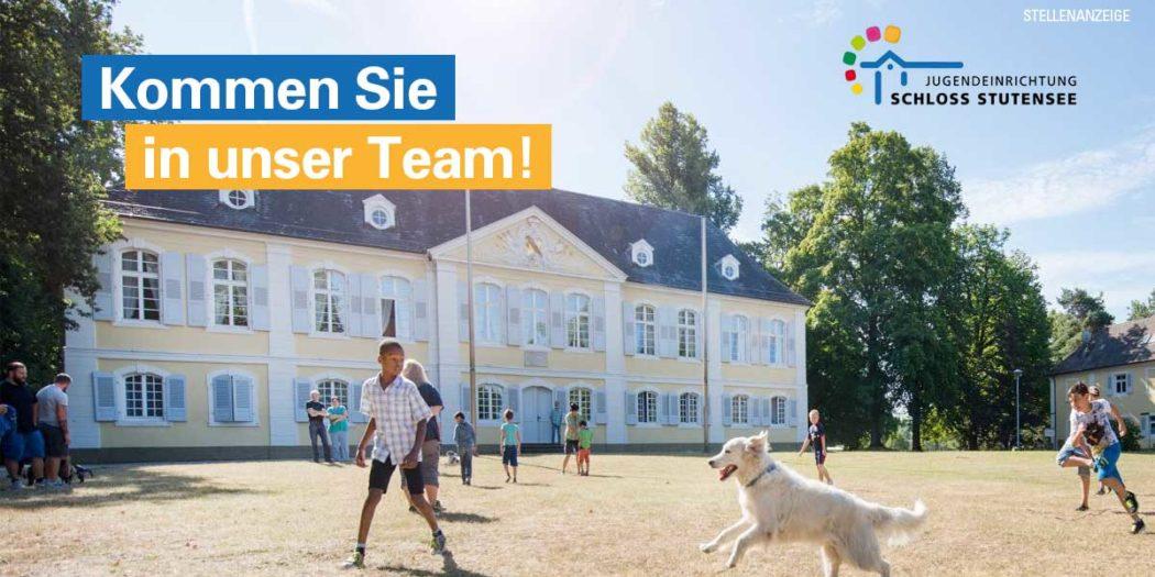 Stellenanzeige Jugendeinrichtung Schloss Stutensee