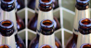 Bier Alkohol Bierkaste Flaschen Glas
