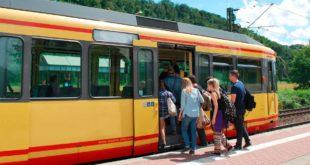 Bahn Albtalbahn Straßenbahn