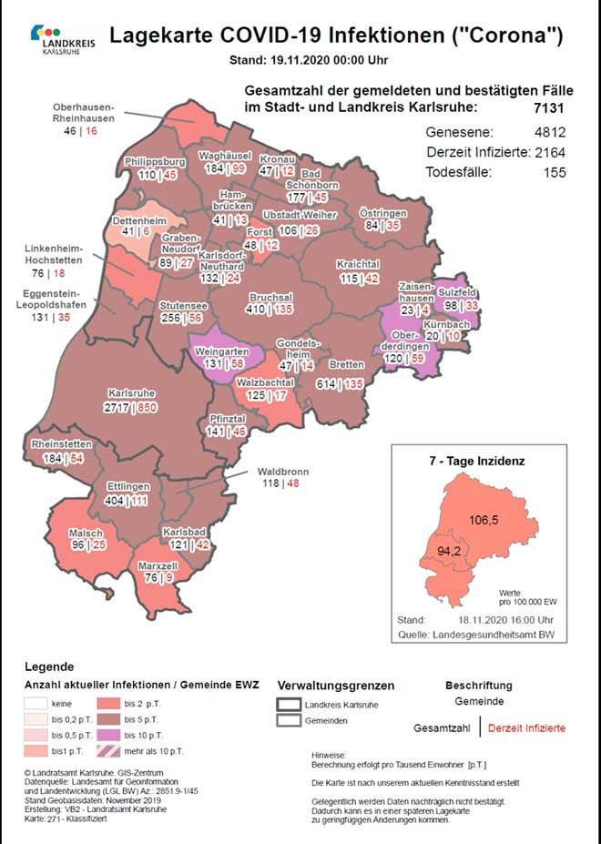 Corona Zahlen Baden Württemberg Landkreise