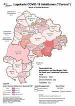 Landkreis Karlsruhe Corona Karte